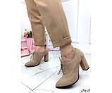 Закрытые туфли на шнурках NINA_MI, фото 3