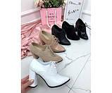 Закрытые туфли на шнурках NINA_MI, фото 7