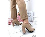 Закрытые туфли на шнурках NINA_MI, фото 5