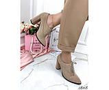 Закрытые туфли на шнурках NINA_MI, фото 4