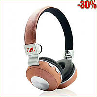 Беспроводные блютуз наушники с микрофоном +FM/MP3  Wireless V682, фото 1
