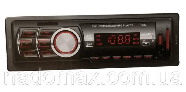 Автомагнитола 1DIN MP3 1782BT
