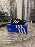 Женские кроссовки Adidas Iniki Black White, женские кроссовки адидас иники, жіночі кросівки адідас інікі, фото 6