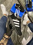 Женские кроссовки Adidas Iniki Black White, женские кроссовки адидас иники, жіночі кросівки адідас інікі, фото 2