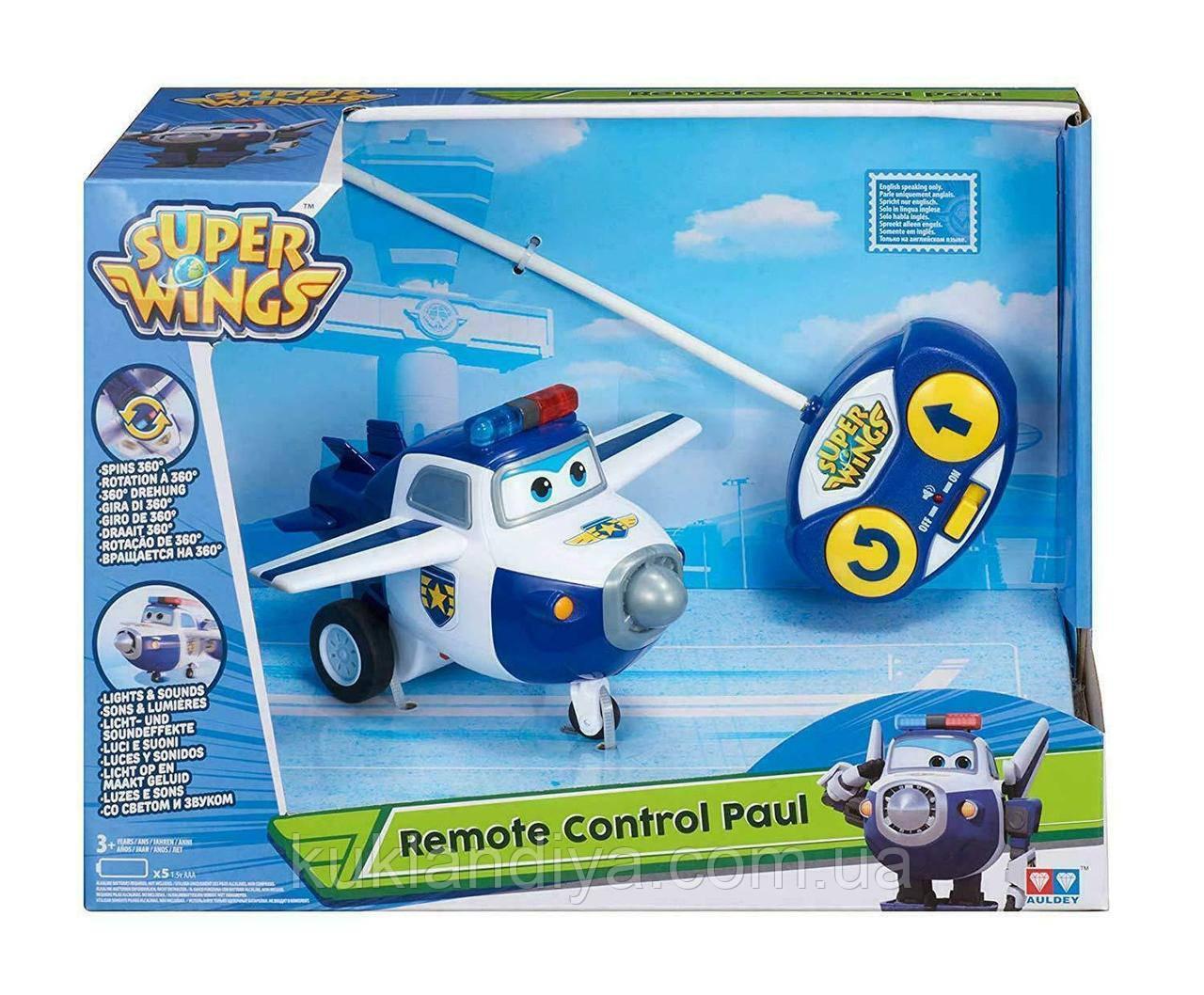 Супер крила Джетт і його друзі Літак на радіоуправлінні Super Wings