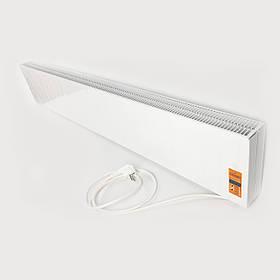 Инфракрасный панельный обогреватель плинтусного типа Dimol Steel 02 Plus / 540 Вт / с программатором