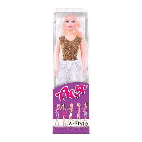 """Кукла Ася блондинка """"А-Стайл"""" вариант 8"""