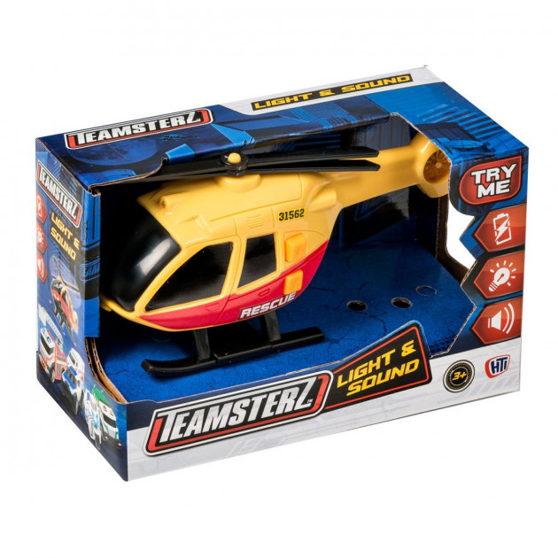 """Вертолет серии """"Light&Sound"""" со светом и звуком, Teamsterz"""