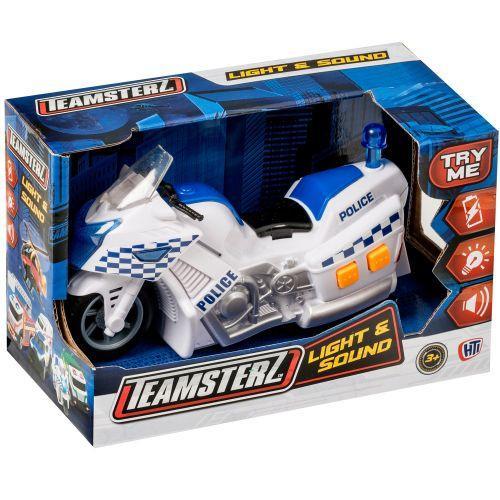 """Полицейский мотоцикл  серии """"Light&Sound"""" со светом и звуком, Teamsterz"""