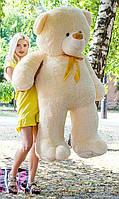 Акция! Плюшевый мишка Ветли кремовый 190 см. Большая мягкая игрушка медведь.