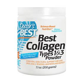 Коллаген 1 и 3 типа Doctor's BEST Best Collagen Types 1 and 3 Powder (200 g)