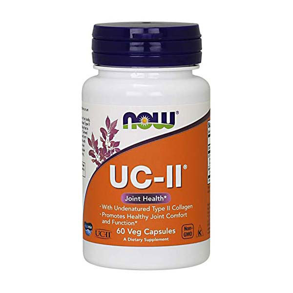 Коллаген типа II NOW UC-II Type Collagen 60 veg caps