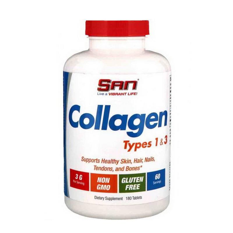 Колаген 1 і 3 типу SAN Collagen Types 1&3 180 tabs