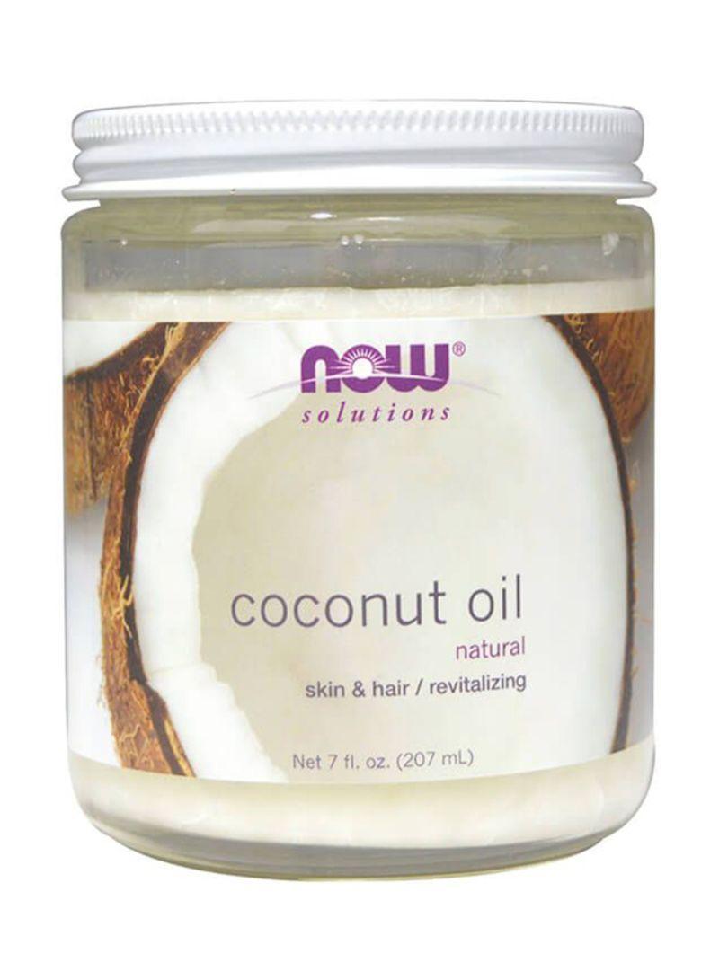 Кокосове масло NOW Coconut oil 207 ml