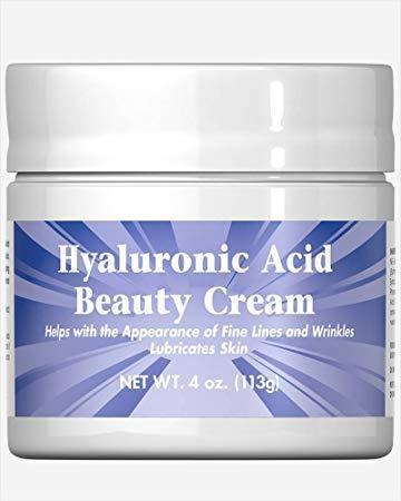 Крем на основе гиалуроновой кислоты Puritan's Pride Hyaluronic Acid Beauty Cream 113 g