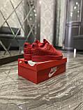 Мужские кроссовки Nike Air Force 1 Low Red Black Stars, мужские кроссовки найк аир форс 1 лов, фото 7