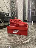 Мужские кроссовки Nike Air Force 1 Low Red Black Stars, мужские кроссовки найк аир форс 1 лов, фото 6