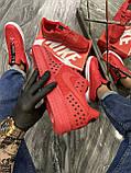 Мужские кроссовки Nike Air Force 1 Low Red Black Stars, мужские кроссовки найк аир форс 1 лов, фото 4