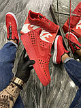 Мужские кроссовки Nike Air Force 1 Low Red Black Stars, мужские кроссовки найк аир форс 1 лов, фото 2