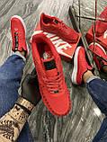 Мужские кроссовки Nike Air Force 1 Low Red Black Stars, мужские кроссовки найк аир форс 1 лов, фото 3