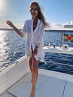 Туника - рубашка женская пляжная, фото 1