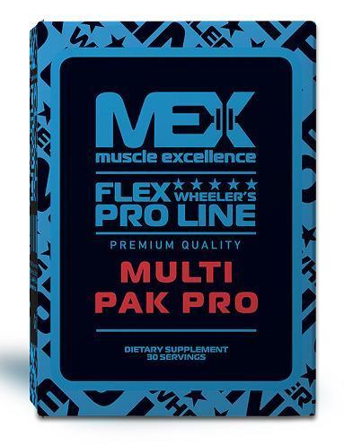 Вітаміни і мінерали комплекс MEX Multi Pak Pro (30 pak)
