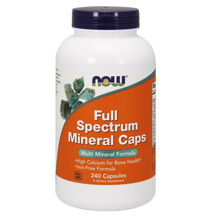 Мінеральний комплекс NOW Full Spectrum Minerals Caps 240 caps
