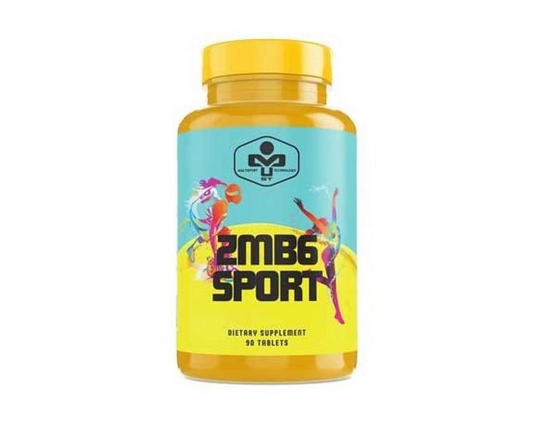 Комплекс витаминов и минералов MUST ZMB6 Sport 90 tab