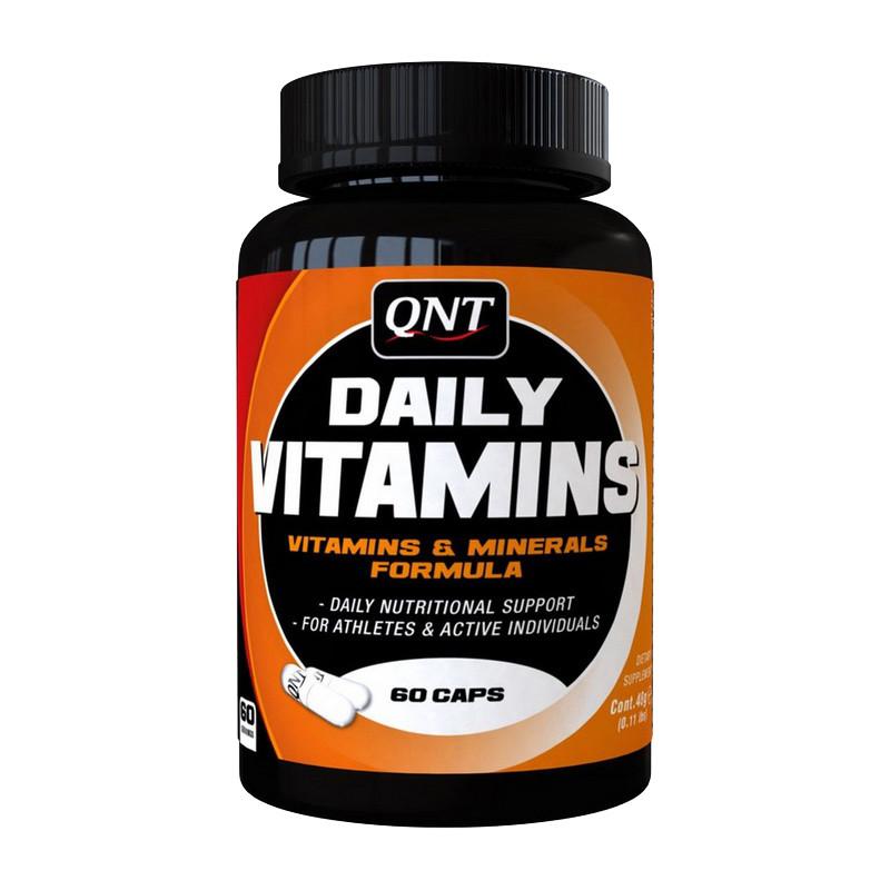 Вітаміни комплексні QNT Daily vitamins caps 60
