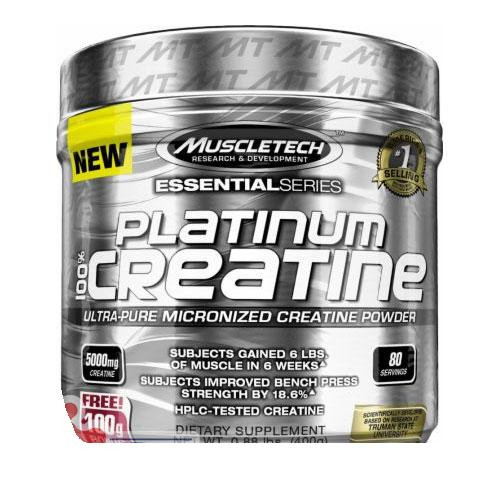 Креатин MuscleTech Platinum 100% Creatine (400 г)