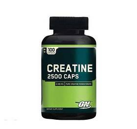 Креатин моногидрат Optimum Nutrition Creatine 2500 Caps (100 caps)