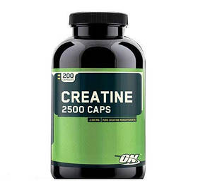 Креатин моногидрат Optimum Nutrition Creatine 2500 Caps (200 caps)