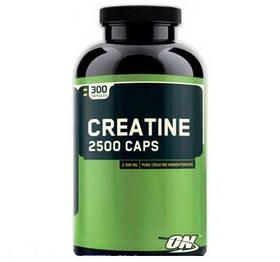 Креатин моногидрат Optimum Nutrition Creatine 2500 Caps (300 caps)