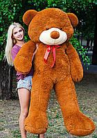 🌟🌟🌟🌟🌟❤️ Плюшевый Мишка 2 метра в Подарок. Большой Плюшевый Медведь 200 см коричневый. Мягкая игрушка., фото 1