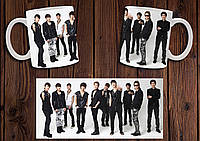 "Чашка ""Super Junior"" / Кружка SJ №2"
