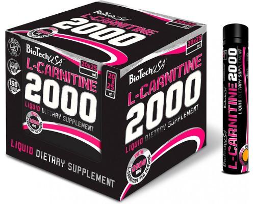Л-Карнітин BioTech 2000 mg L-Carnitine ( 20x25 ml)