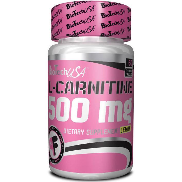 Л-Карнітин BioTech L-Carnitine 500 mg (60 tabs)