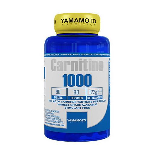 Л-Карнитин Yamamoto nutrition Carnitine 1000 90 tab