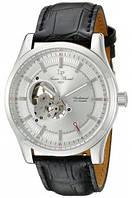 Мужские наручные часы Lucien Piccard Men's Morgana Analog Display Mechanical Hand Wind Black Watch