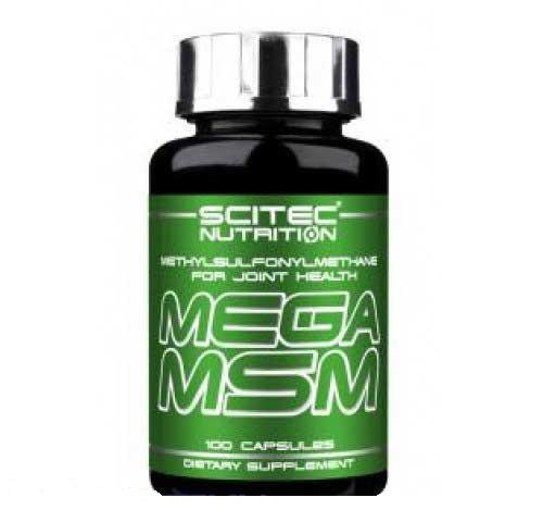 Метилсульфонилметан Scitec Nutrition Mega MSM (100 caps)