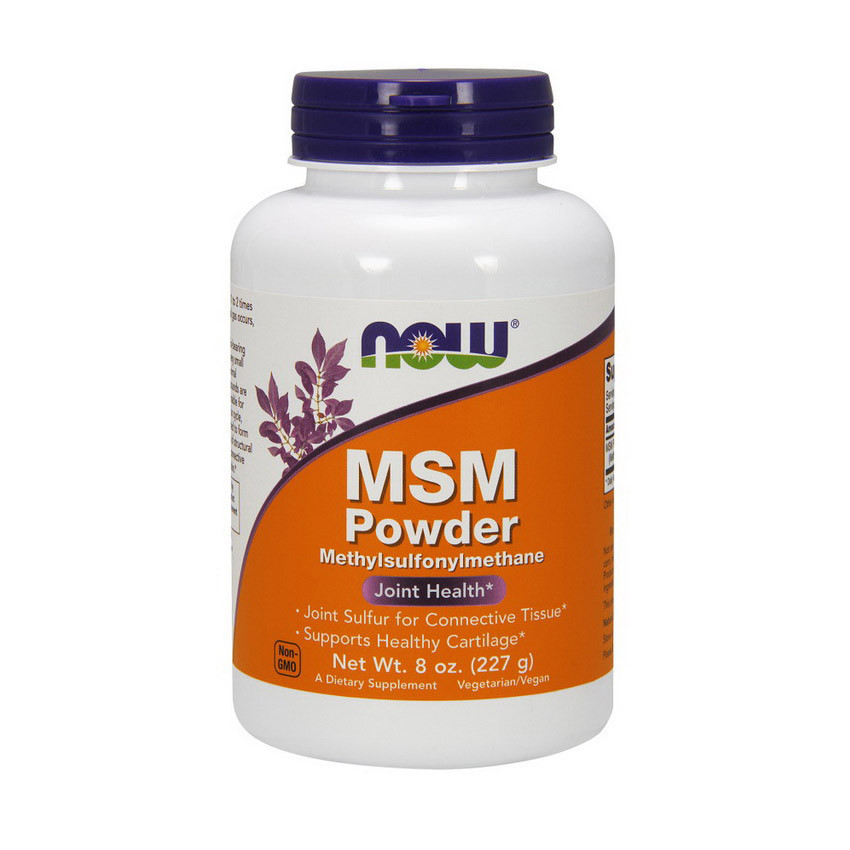Метилсульфонилметан NOW MSM Powder 227 g