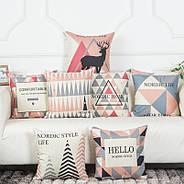 Декоративная подушка (наволочка) Коллекция Nordic Home #1, фото 2