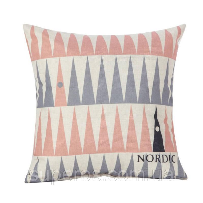 Декоративная подушка (наволочка) Коллекция Nordic Home #1