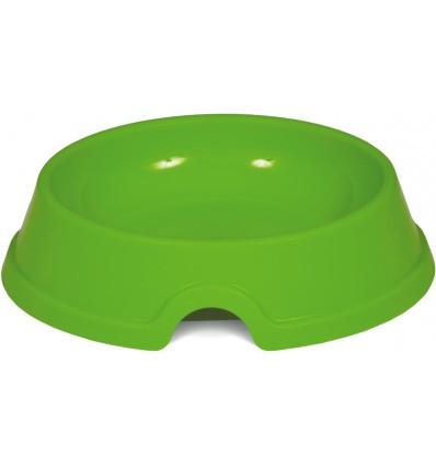Миска плоская для котов и собак пластик 200мл Природа