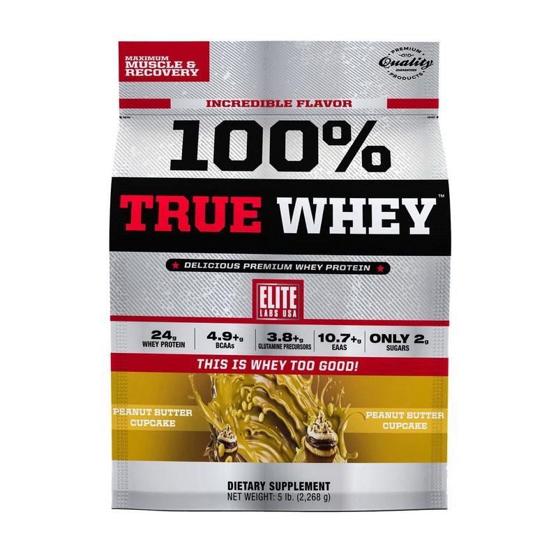 Сывороточный протеин ELITE Labs 100% True Whey 2,26 kg