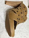 Босоножки-шлепки женские 40 р Италия, фото 4
