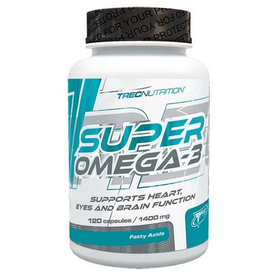Риб'ячий жир TREC Nutrition Super Omega-3 (120 caps)
