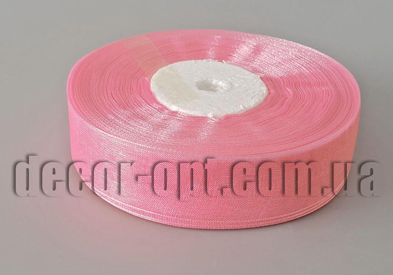 Лента органза оттенок розовый 2 см 50ярд арт 94new