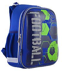 Рюкзак шкільний каркасний 1 Вересня H-12 Football Синій (555946)