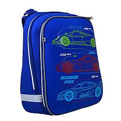 Рюкзак шкільний каркасний YES H-12 Maximum Speed Синій (555954)